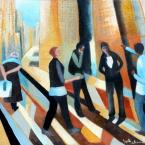 "oil on canvas 53"" x 46"""